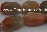 CNG5090 15.5 inches 13*18mm - 15*25mm faceted nuggets sunstone beads