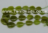 CNG5160 15.5 inches 16*22mm - 30*35mm freeform Korea jade beads