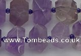 CNG5273 15.5 inches 12*16mm - 15*20mm faceted nuggets amethyst beads