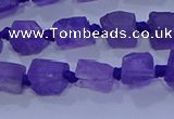 CNG5902 15.5 inches 4*6mm - 6*10mm nuggets rough amethyst beads