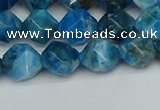 CNG7431 15.5 inches 8mm faceted nuggets apatite gemstone beads