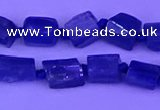 CNG7644 15.5 inches 5*6mm - 6*8mm nuggets blue kyanite beads