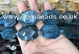 CNG7834 15.5 inches 22*30mm - 25*35mm faceted freeform apatite beads