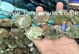 CNG7867 15.5 inches 22*30 - 28*35mm faceted freeform rhyolite beads