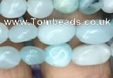 CNG8014 15.5 inches 6*8mm nuggets amazonite beads wholesale