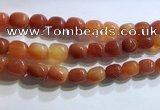CNG8155 15.5 inches 10*14mm nuggets agate beads wholesale