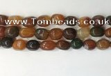 CNG8210 15.5 inches 12*16mm nuggets agate beads wholesale