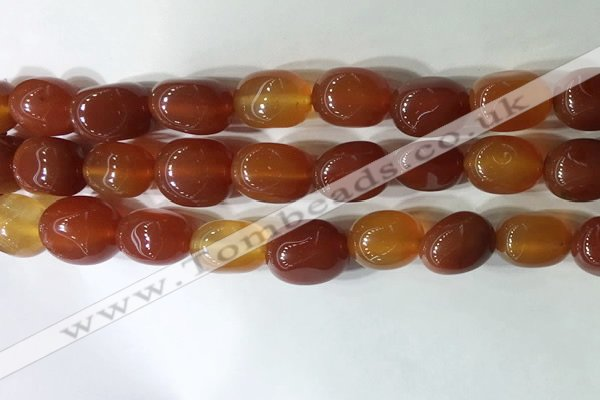 CNG8250 15.5 inches 13*18mm nuggets agate beads wholesale