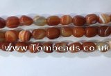 CNG8269 15.5 inches 13*18mm nuggets striped agate beads wholesale