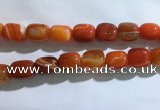 CNG8314 15.5 inches 15*20mm nuggets striped agate beads wholesale
