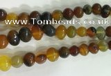 CNG8336 15.5 inches 10*12mm nuggets agate beads wholesale