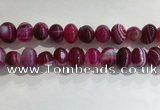 CNG8383 15.5 inches 12*16mm nuggets striped agate beads wholesale