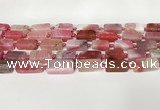 CNG8395 15.5 inches 8*18mm – 10*25mm freeform agate beads
