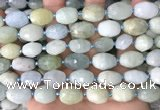 CNG8514 15.5 inches 12*14mm - 13*18mm faceted nuggets aquamarine beads