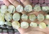 CNG8656 15.5 inches 10mm - 20mm freeform green rutilated quartz beads