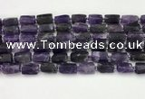 CNG8848 15.5 inches 8*12mm - 10*16mm nuggets matte amethyst beads