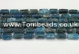 CNG8864 15.5 inches 8*12mm - 10*16mm nuggets matte apatite beads