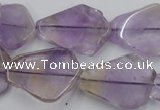 CNG890 15.5 inches 15*20mm – 20*30mm freeform ametrine beads