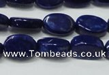 CNL1277 15.5 inches 9*13mm oval natural lapis lazuli beads