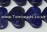 CNL1293 15.5 inches 20*30mm heart natural lapis lazuli beads