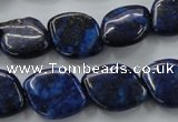 CNL648 15.5 inches 15*20mm marquise natural lapis lazuli beads