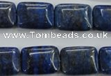 CNL975 15.5 inches 15*20mm rectangle natural lapis lazuli gemstone beads