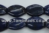 CNL980 15.5 inches 16*20mm flat drum natural lapis lazuli gemstone beads