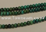CNT110 15.5 inches 3*5mm rondelle natural turquoise beads wholesale