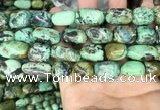 CNT408 15.5 inches 12*16mm - 14*23mm nuggets natural turquoise beads