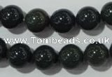 COJ304 15.5 inches 12mm round Indian bloodstone beads wholesale