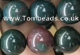 COJ333 15.5 inches 10mm round Indian bloodstone beads wholesale