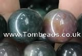 COJ335 15.5 inches 14mm round Indian bloodstone beads wholesale