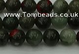 COJ452 15.5 inches 8mm round blood jasper beads wholesale