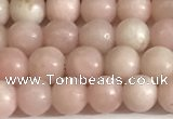 COP1241 15.5 inches 6mm round Chinese pink opal beads