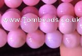 COP1520 15.5 inches 6mm round natural pink opal beads wholesale