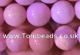 COP1521 15.5 inches 8mm round natural pink opal beads wholesale