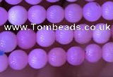 COP1525 15.5 inches 4mm round natural pink opal gemstone beads