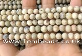 COP1561 15.5 inches 6mm round matte African opal beads