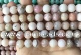 COP1750 15.5 inches 10mm round natural pink opal beads wholesale