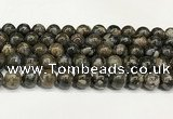 COP1803 15.5 inches 10mm round grey opal beads wholesale