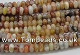 COP301 15.5 inches 2*4mm rondelle brandy opal gemstone beads wholesale
