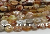 COP306 15.5 inches 6*8mm oval brandy opal gemstone beads wholesale
