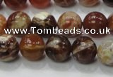 COP503 15.5 inches 12mm round natural red opal gemstone beads