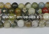 COS220 15.5 inches 4mm round ocean stone beads wholesale