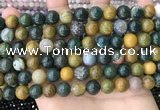 COS303 15.5 inches 10mm round ocean jasper beads wholesale