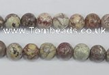 COT01 15.5 inches 8mm round osmanthus stone beads wholesale