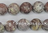 COT05 15.5 inches 16mm round osmanthus stone beads wholesale