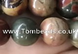 CPJ636 15.5 inches 10mm round picasso jasper beads wholesale