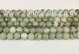 CPJ702 15.5 inches 8mm round greeting pine jasper beads