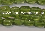 CPO111 15 inches 4*7mm rice natural peridot beads wholesale